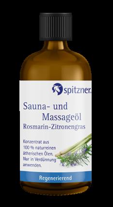 Sauna- und Massageöle 100 ml