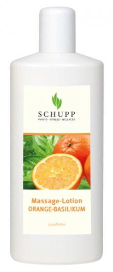 Massage-Lotion Orange-Basilikum