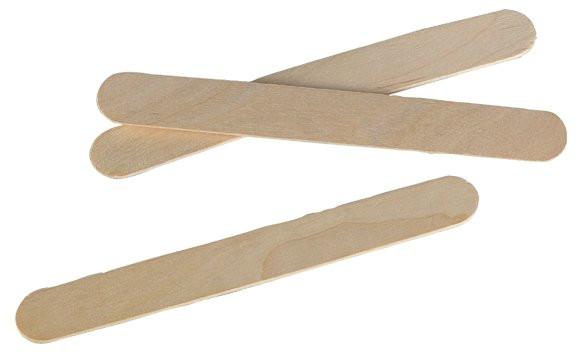 Einmalspatel aus Holz (VE 100 Stück)