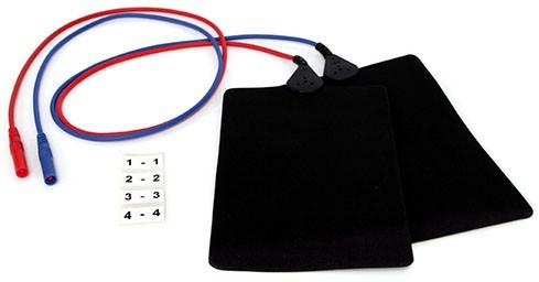 Plattenelektroden EF 200 / 17,5 x 11 cm