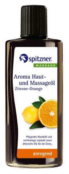 Aroma Haut- und Massageöl ZITRONE-ORANGE