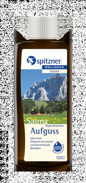 Saunaaufguss Alpenkräuter