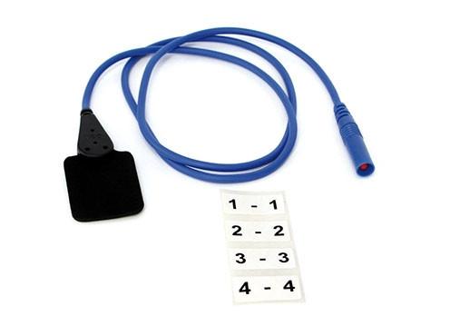 Plattenelektroden EF 10 / 3,5 x 3 cm