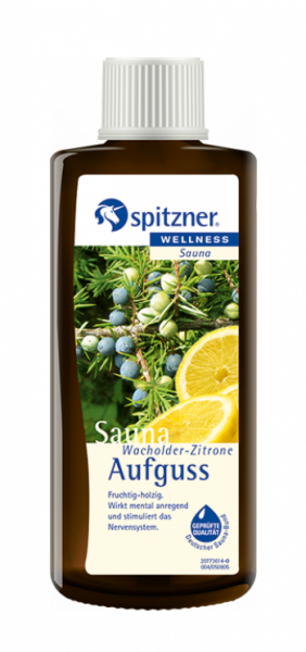 Saunaaufguss Wacholder-Zitrone