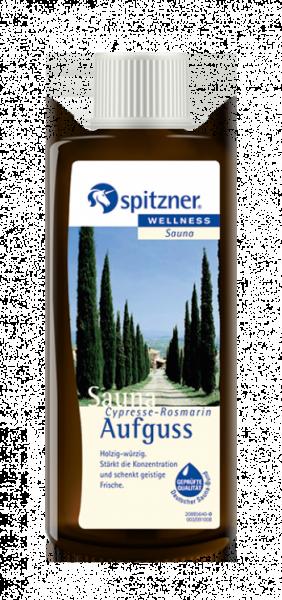 Saunaaufguss Cypresse-Rosmarin