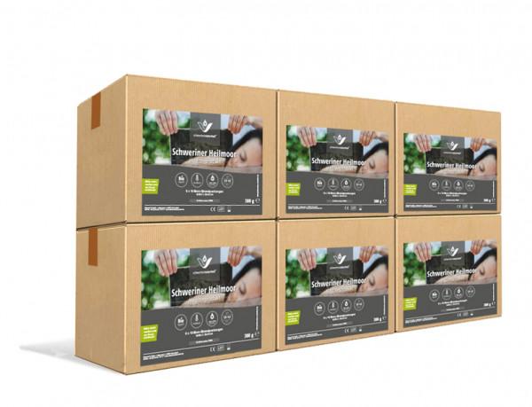 Schweriner Heilmoorpackung 6 Kartons mit 360 Packungen