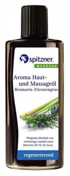 Aroma Haut- und Massageöl ROSMARIN-ZITRONENGRAS