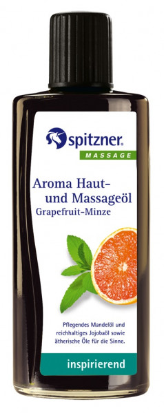 Aroma Haut- und Massageöl GRAPEFRUIT-MINZE
