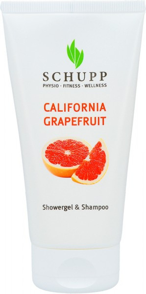 California Grapefruit Showergel & Shampoo