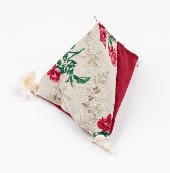 Duftpyramide Rosen Lavendel, Duftsäckchen bewahrt den Duft frisch gewaschener Wäsche