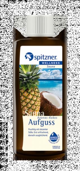 Saunaaufguss Ananas-Kokos
