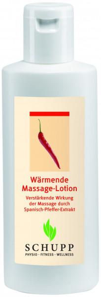 Wärmende Massage-Lotion